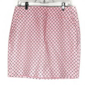 ANN TAYLOR | Textured Patterned Pencil Skirt